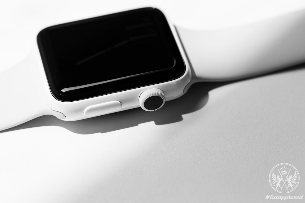 Apple Watch Series 2 White Ceramic Case With Cloud Sport Band
