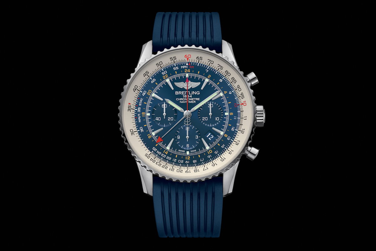 Breitling Navitimer GMT Aurora Blue Is A Chronograph With A Traveler's Soul