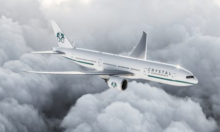 Crystal AirCruises Unveils Lavish Design for Boeing 777-200LR