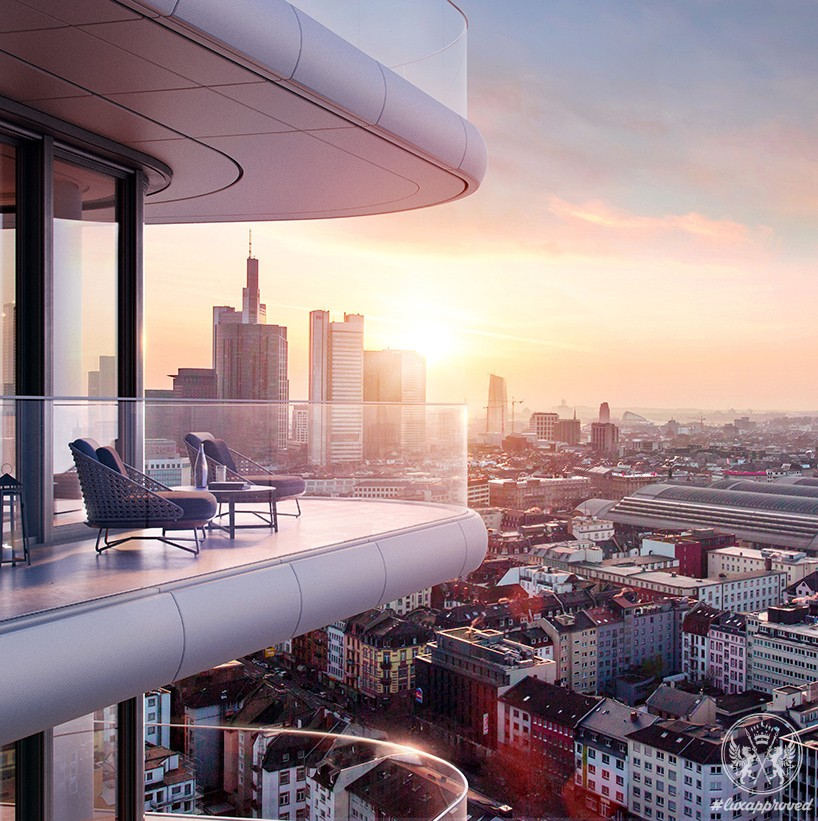 Grand Tower By Magnus Kaminiarz & Cie Will Be Germany's Tallest Residential Skyscraper