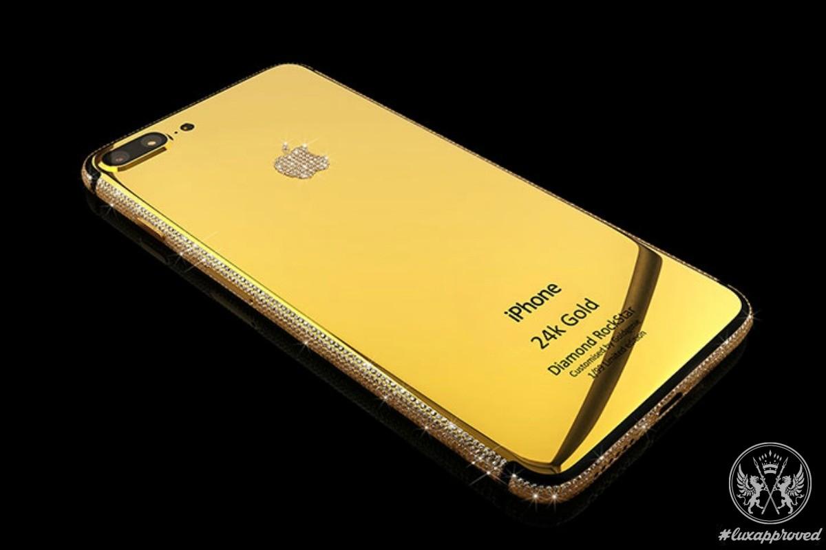 Goldgenie iPhone 7 Diamond RockStar