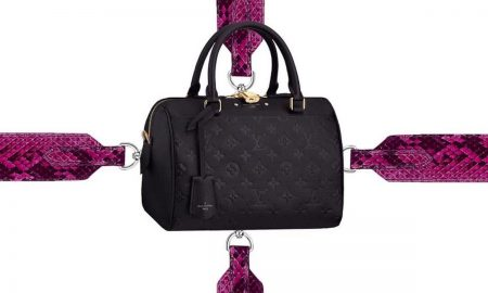 You can customize Your Louis Vuitton Bag With The Bandoulière Straps