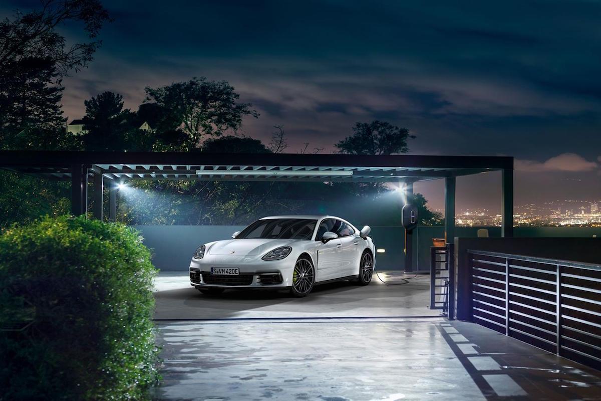 Porsche Unveils The Panamera 4 E-Hybrid Ahead of the Paris Motor Show