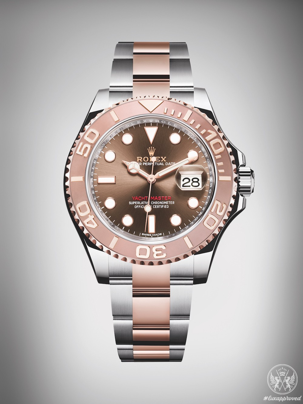 Rolex Oyster Perpetual Yacht-Master 40 In Stunning Everose Rolesor
