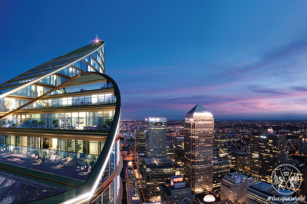 Spire London Will Be The Tallest Residential Tower In Western Europe