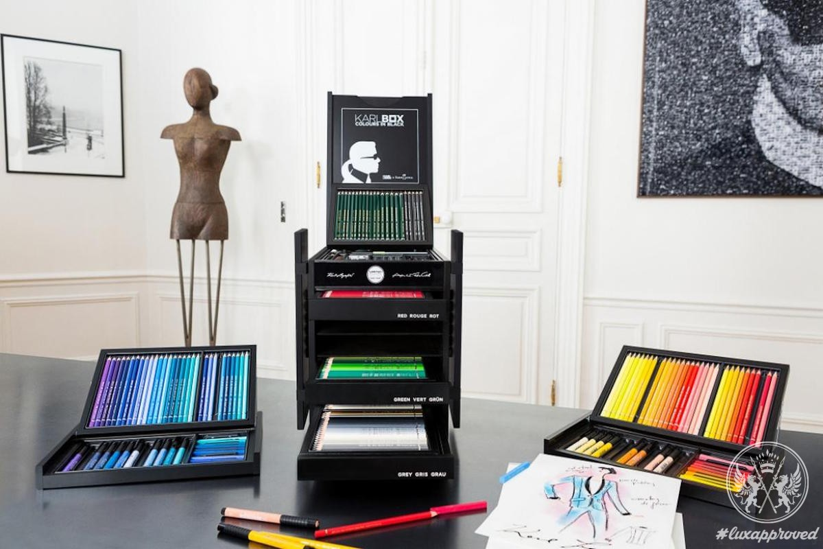 The Karlbox by Karl Lagerfeld & Faber-Castell