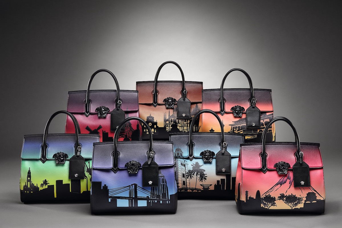 Versace Launches 7 Bags For 7 Cities Limited Edition Collection Of The Palazzo Empire Bag