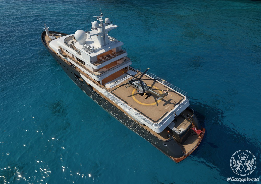 The Go-everywhere Superyacht Admiral Project 575