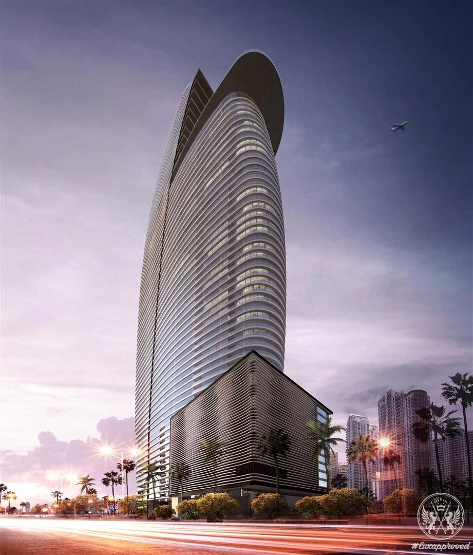 The Aston Martin Residences at 300 Biscayne Boulevard Way, Miami