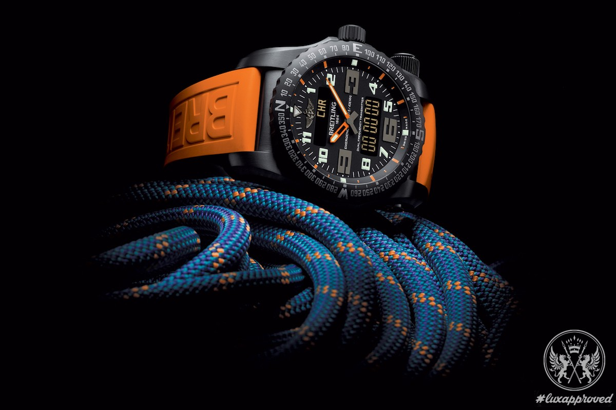Breitling Emergency Night Mission Is Designed for the Dicey Operations