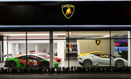 Lamborghini Launches A New Dealership Corporate Identity in Bristol