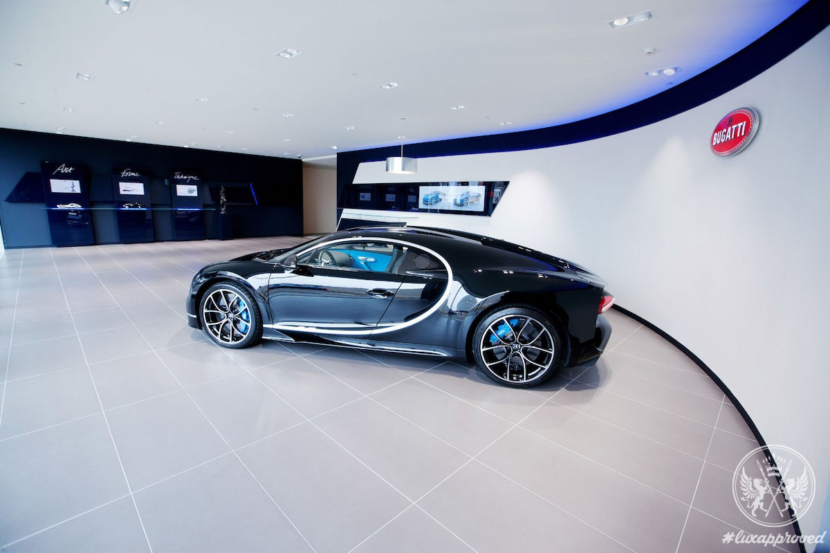 Bugatti Brussels Is the Brand's Largest Showroom in Europe