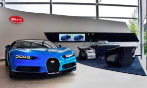 Bugatti Zurich Boasts an Award-winning Showroom Design