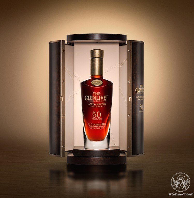The Glenlivet Winchester Collection Vintage 1966 Celebrates the Highest Selling Whisky Lot This Decade