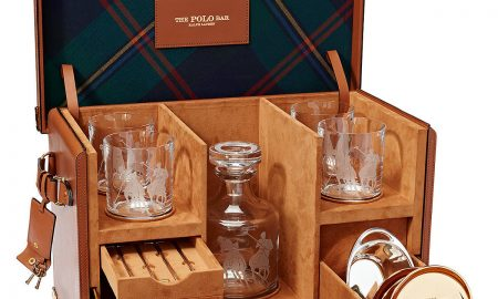 Ralph Lauren Fills Kipton Mixologist Box with Iconic Pieces from the Polo Bar