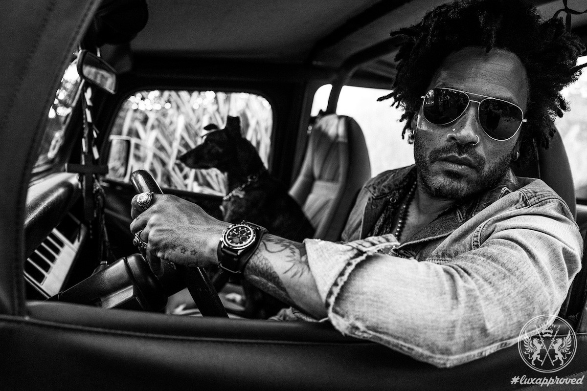 Fit for Rock Star: LK 01 Rolex Daytona Watch Designed By Lenny Kravitz