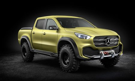 Mercedes-Benz Unveils Concept X-Class Stylish Explorer & Powerful Adventurer Pickup Trucks