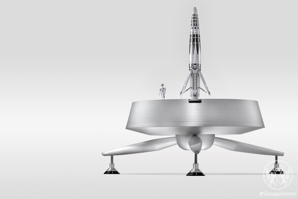 Caran d'Ache and MB&F Create Astrograph Writing Instrument