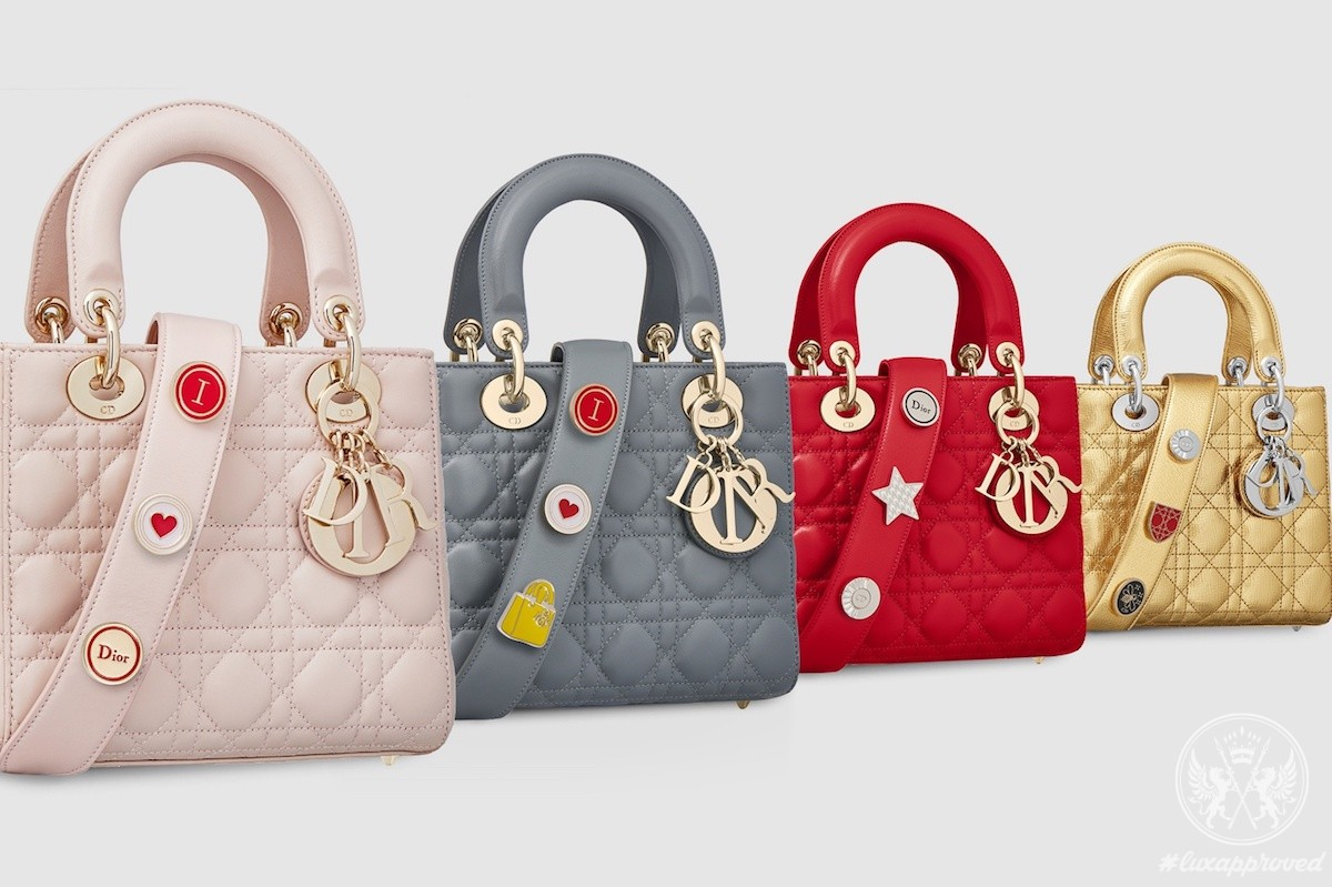 cb43bc3e5552 My Lady Dior Is the Fashion Brand s First Customizable Bag