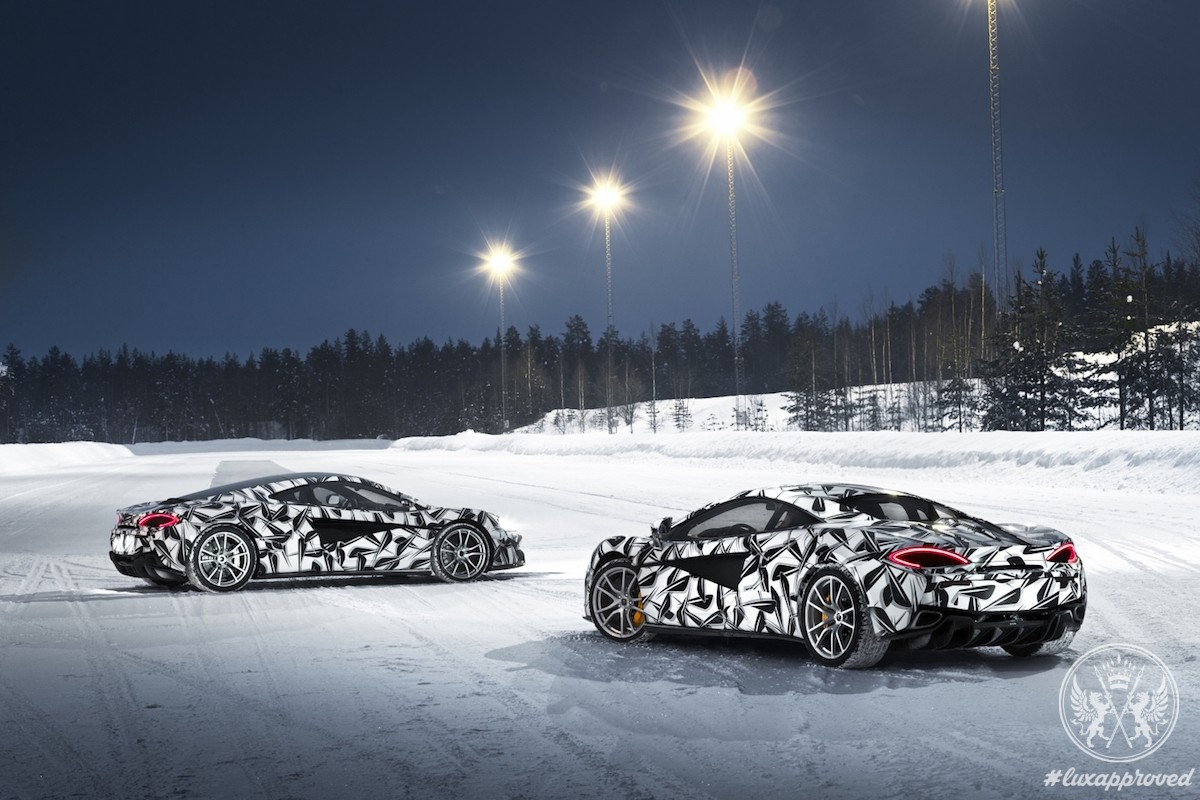 Pure McLaren Announces its first Ice Driving Experience – Pure McLaren Arctic Experience