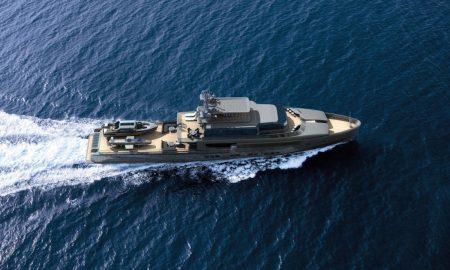 Rossinavi & Ken Freivokh Present Argo, the 48m Explorer Yacht