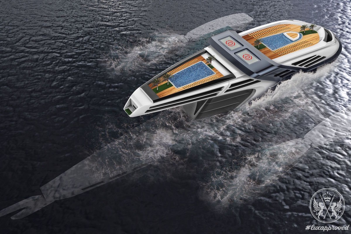 Meet Seataci, the $100 Million Eco-Yacht Concept