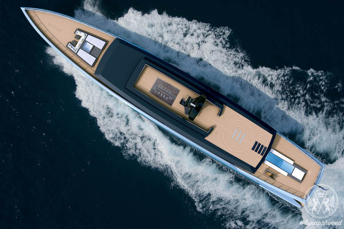 Behold Zen, an 80m yacht Concept by Sinot Exclusive Yacht Design & Feadship