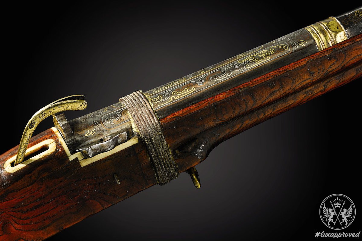 Chinese Imperial Matchlock Musket Valued at $1,9 Million to Be Auctioned off