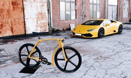 Lamborghini-inspired Viks GT Bike by Velonia Bicycles
