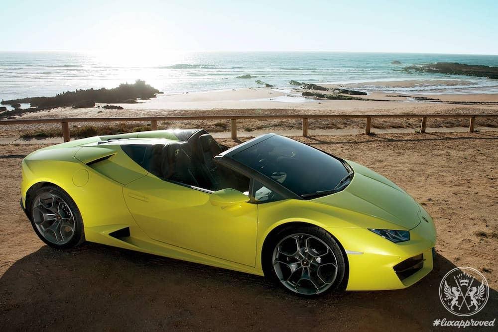 Lamborghini Unveils the New Huracán RWD Spyder