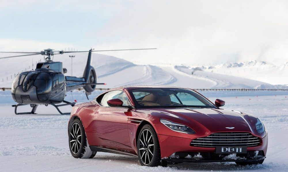 Aston Martin Presents Art of Living on Ice 2017