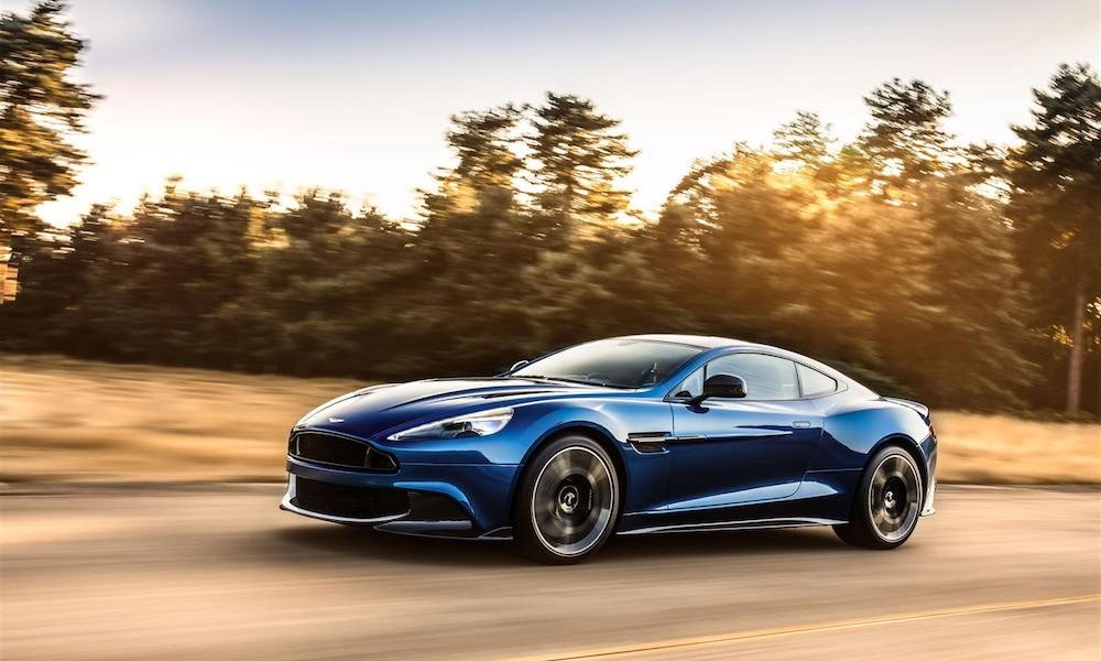 Vanquish S Is One of the Most Powerful in Aston Martin's Collection of Masterpieces