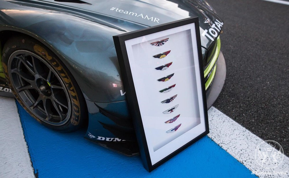 Aston Martin WEC Wings Badge Artwork Collection Is Available For Sale