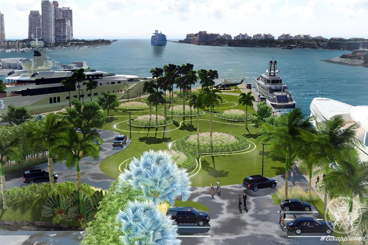 BWA Yachting Opens One Island Park Marina Miami