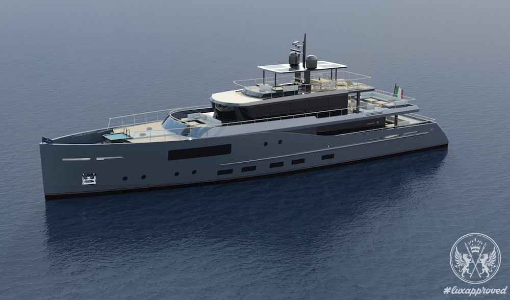 Baglietto Presents 41m V-Line by Santa Maria Magnolfi Design