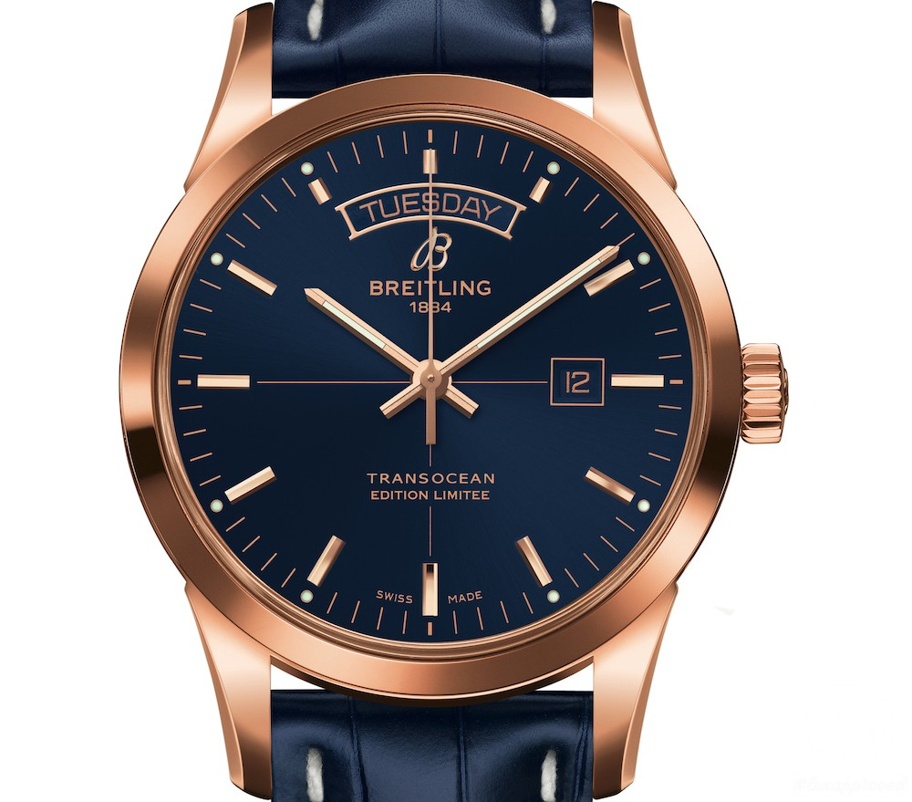 Discover an All-New Breitling Transocean Day & Date U.S. Limited Edition Watch