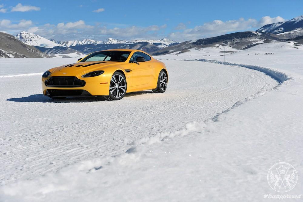 Aston Martin Presents Art of Living on Ice 2017