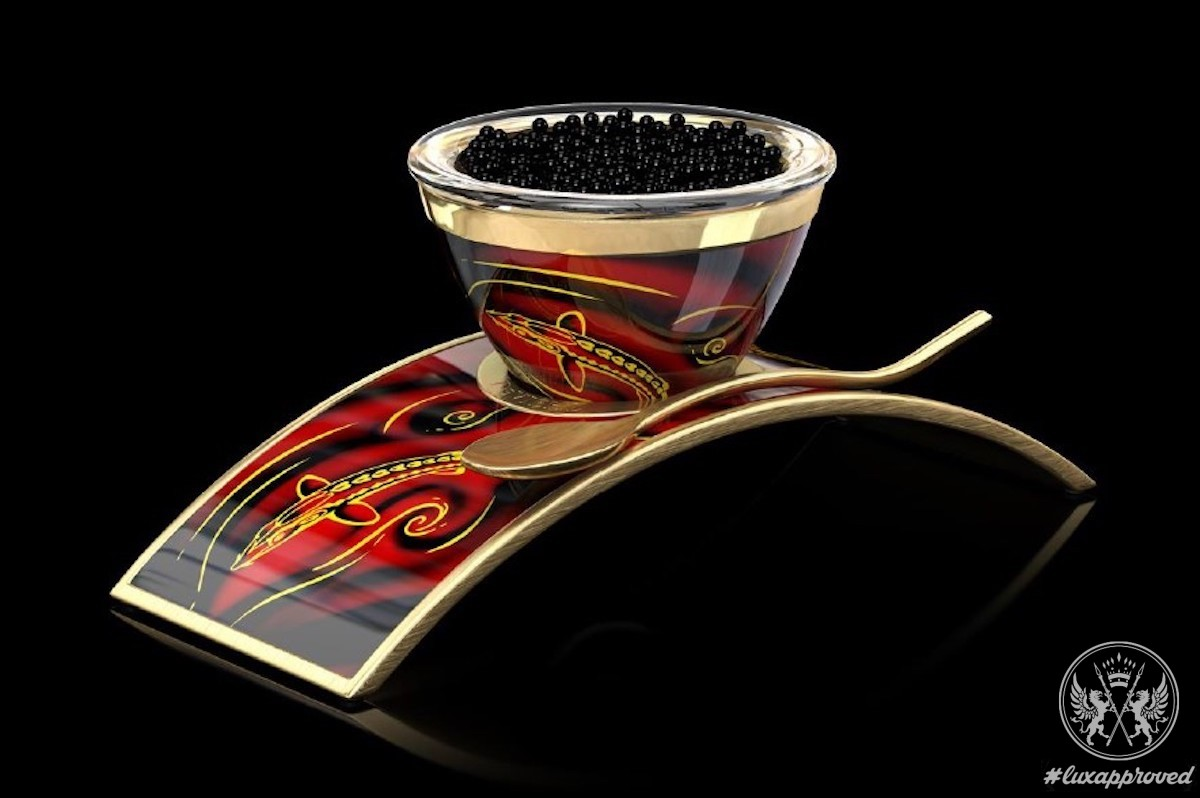 DEVIEHL Creates the Luxurious Cup for...Caviar