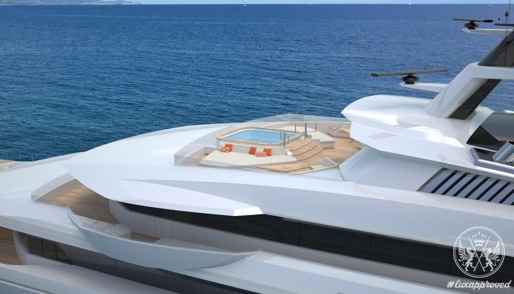 Horacio Bozzo Designs the 120m Private Bay Concept for Fincantieri Yachts