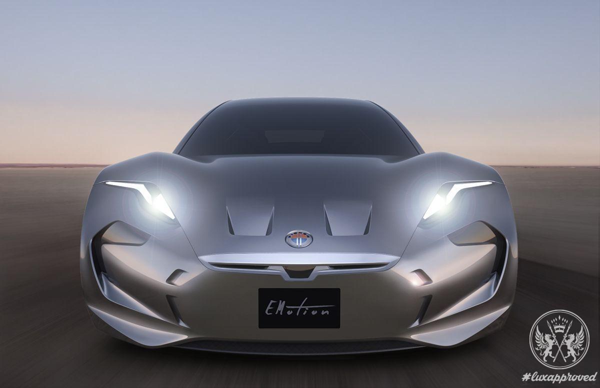 The Fisker EMotion Luxury Sports Sedan