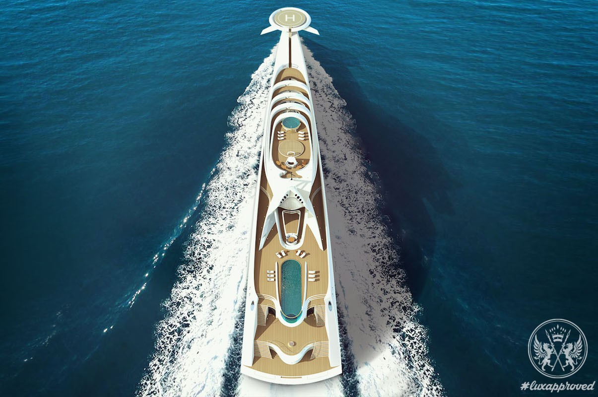L'Amage is One of the Largest Luxury Superyacht Projects in the World