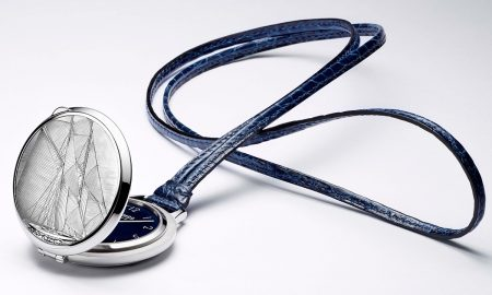 Slim d'Hermès Pocket Vieux Gréement Limited Edition Pocket Watch