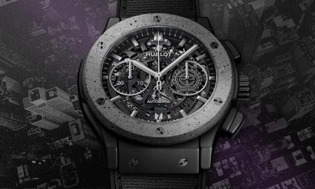 Hublot Classic Fusion Aerofusion Concrete Jungle is a Homage to NYC