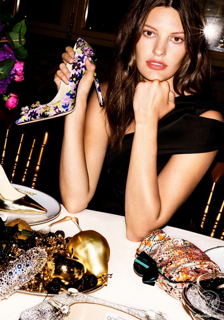Jimmy Choo Presents Custom Bejeweled Collection