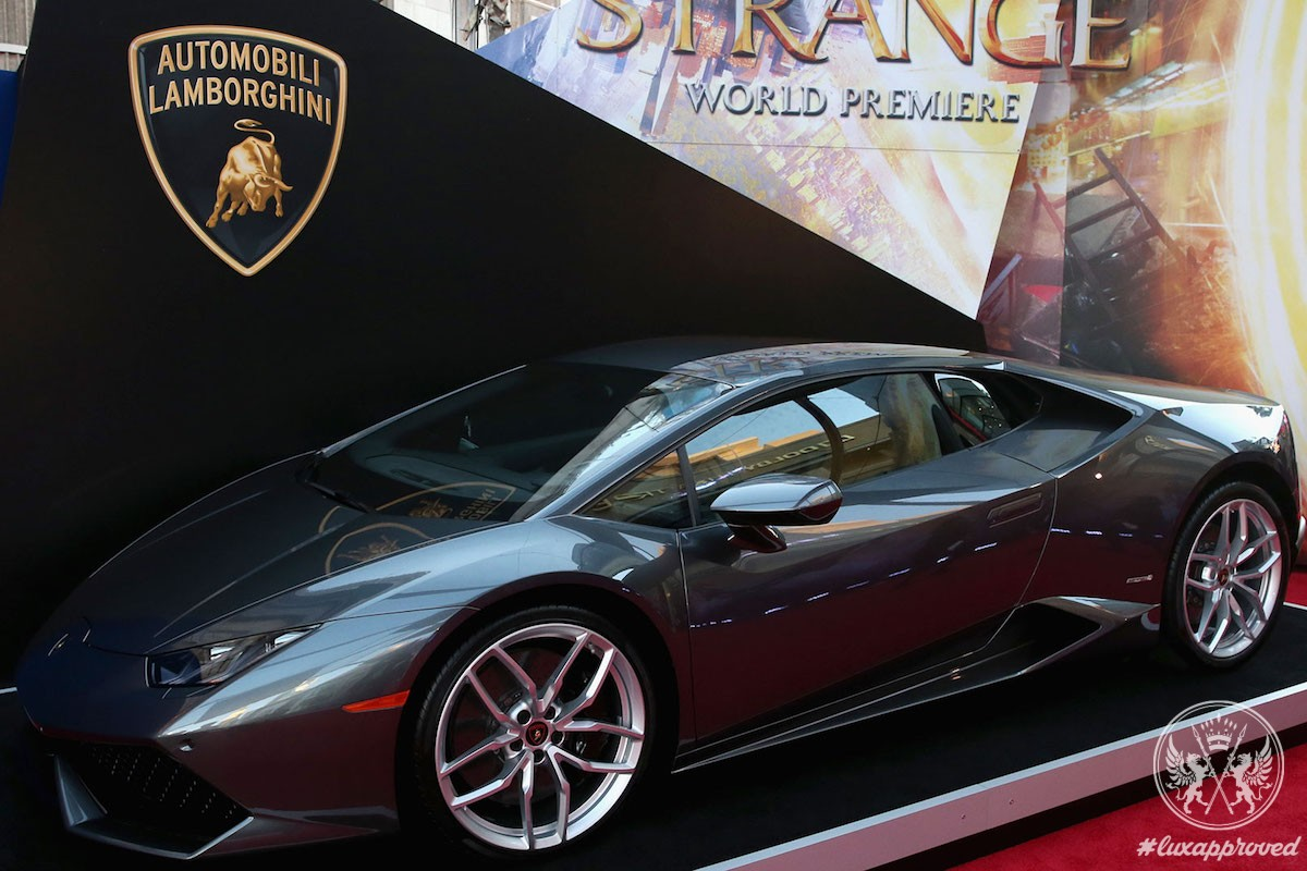 Lamborghini Huracán Coupé Stars in Marvel Studios' Doctor Strange