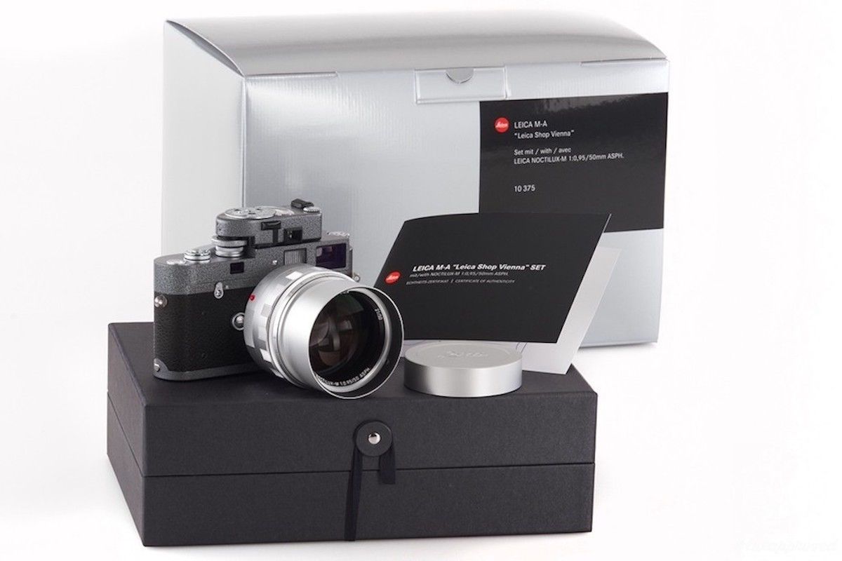 """Leica M-A """"Leica Shop Vienna"""" Limited Edition Set"""