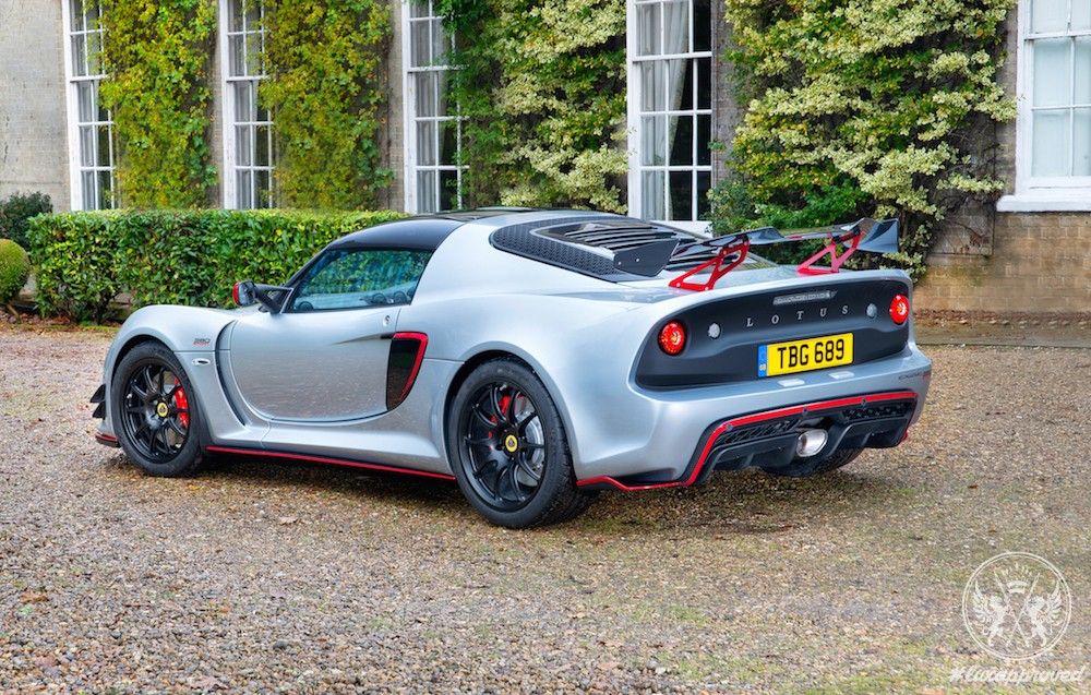 Lotus Exige Sport 380 Is Not for the Timid