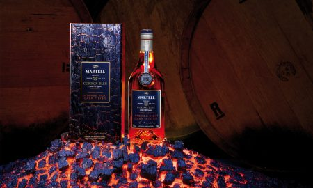 The House of Martell Presents the Cordon Bleu Intense Heat Cask Finish Cognac