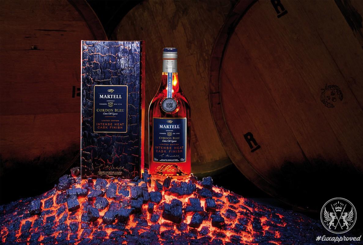 The House of Martell Presents the Cordon Bleu Intense Heat Cask Finish Cognac