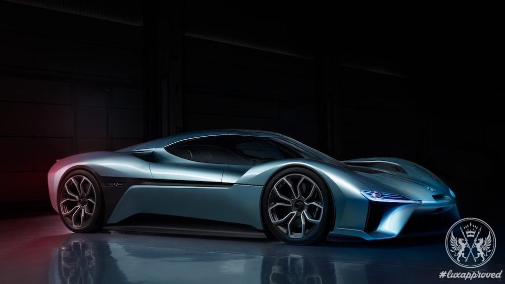NextEV Unveils NIO EP9, the Fastest Electric Car in the World